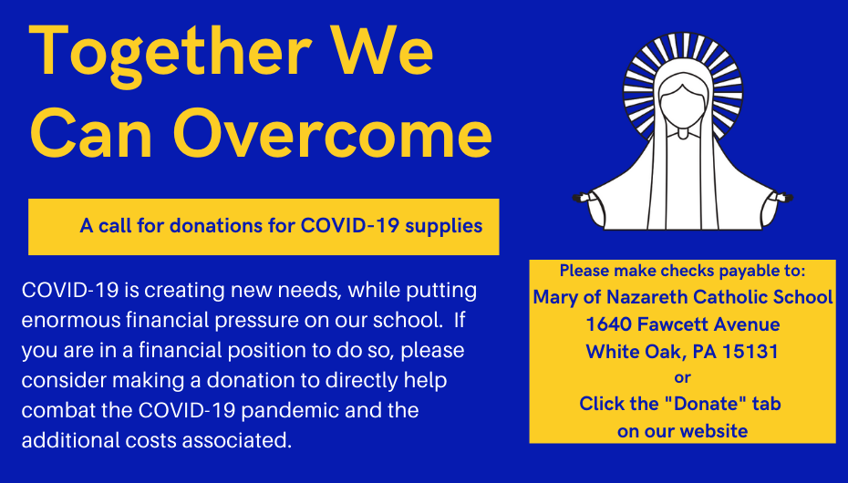 A Call for Donations for COVID-19 Supplies