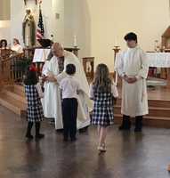 First Grade Leads Mass