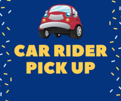 2020-2021 Car Rider Pick Up Information