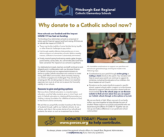 Why donate to a Catholic school now?