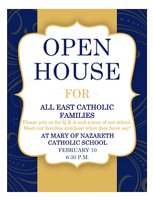 East Catholic Families Open House