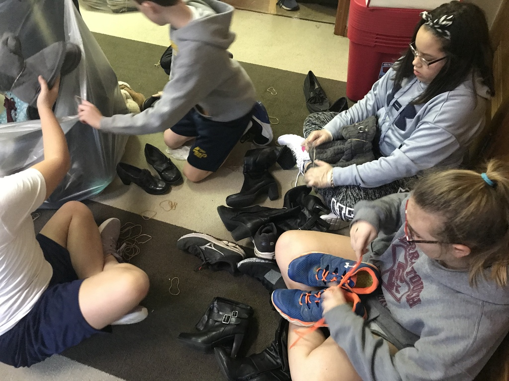 Funds2Org Shoe Drive (6th Grade)