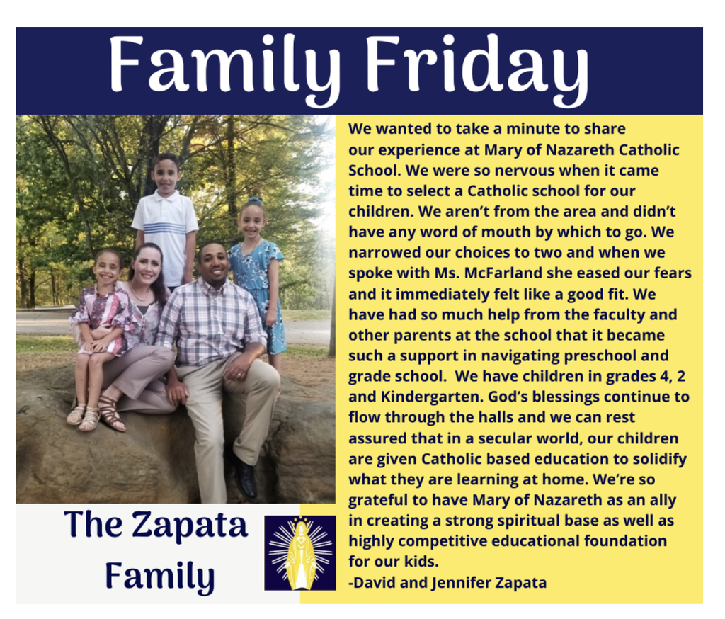 Family Friday - Zapata Family