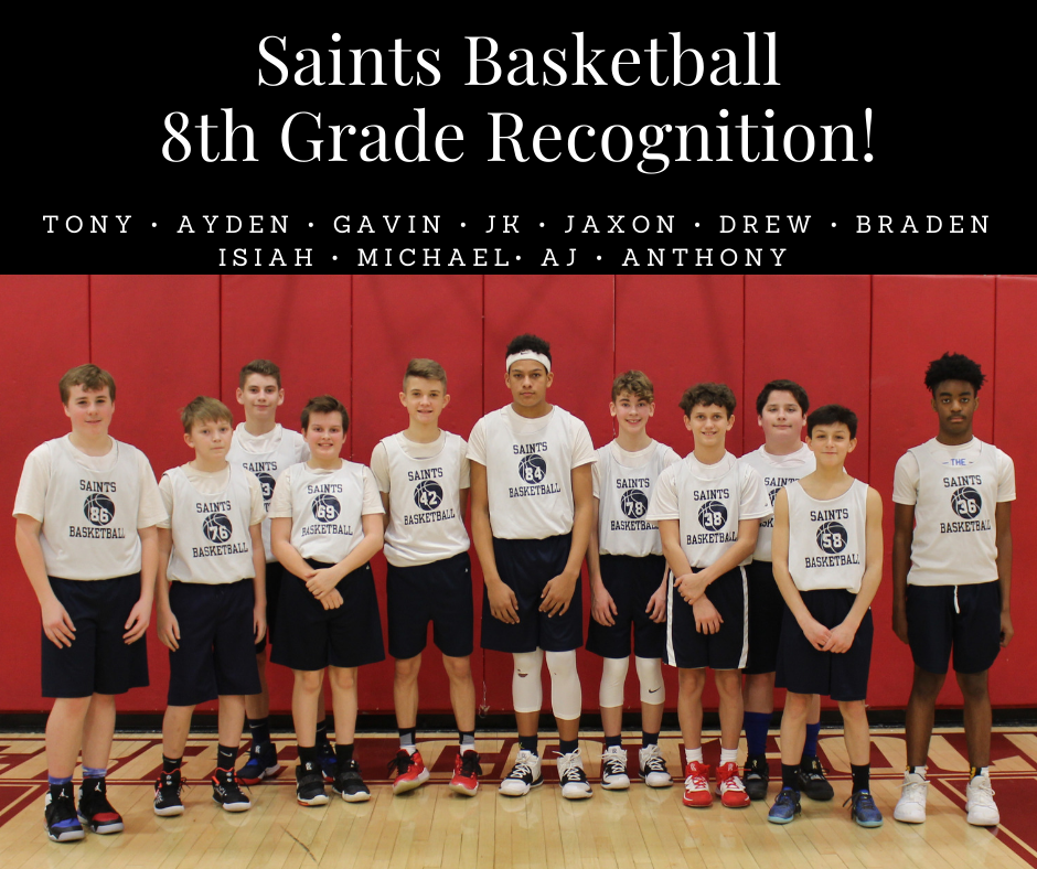 Eight Grade Basketball (Recognition)