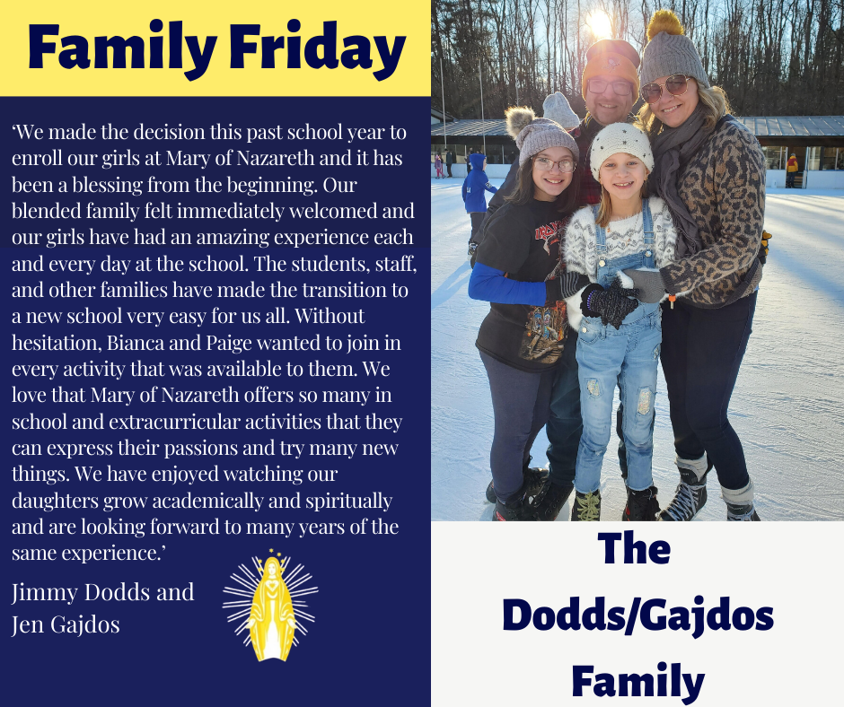 Family Friday - Dodds/Gajdos